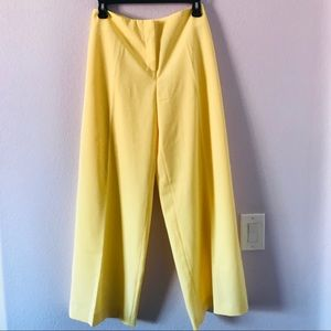New vintage bright yellow Chadwick's wide trousers